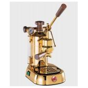 Pavoni Proffessional - Leva Espressomaskin, 1grupp, guld/trä