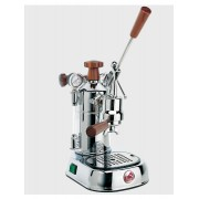 Pavoni Proffessional - Leva Espressomaskin, 1grupp, krom/trä