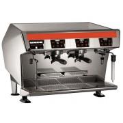 UNIC Stella di Caffe - Takeaway, Traditionell med hög kapacitet, 2grupp, Höga ben