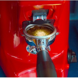 Eureka Olympus 75 - Direktmalande proffskvarn, Röd