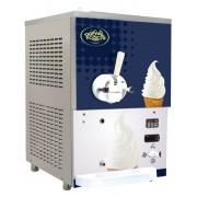 Dairy Den ICE 401G - Mjukglass, 1-smak, Gravitationsmodell, bänk