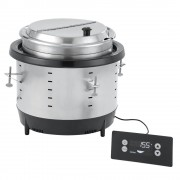 Vollrath Mirage - DROP IN Värmeri, 10,4L, 1behållare, Silver