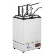 Bereila Bedum - Varm dispenser, Sylt/Sås, 2 pumpar, 2 kantiner